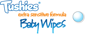 Tushies extra sensitive formula baby wipes